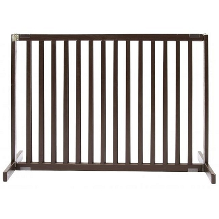 Free Standing Pet Gate Large Tall