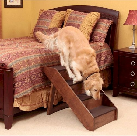 Extra Large Wood Dog Steps