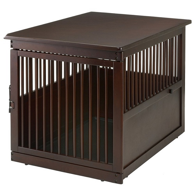 richell end table dog crate large