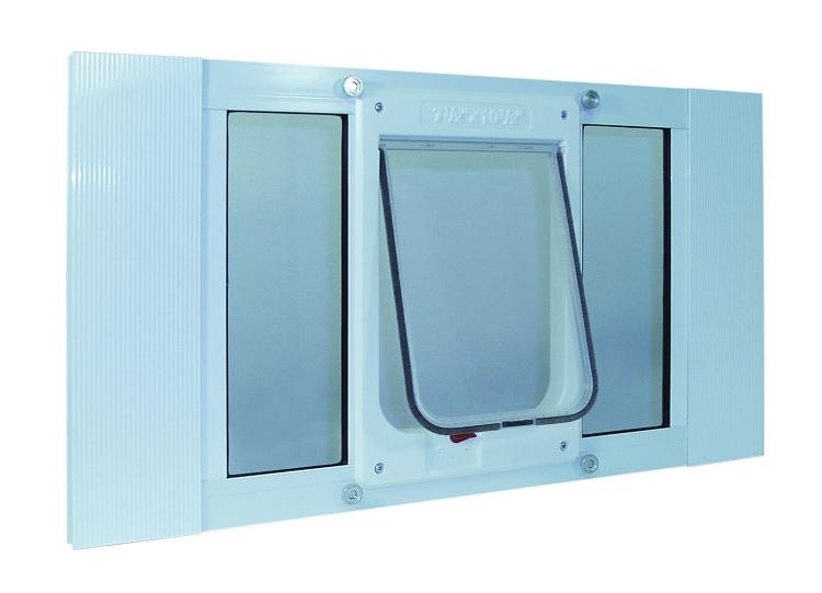Ideal Pet Aluminum Sash Window Cat Flap 27 32 Inches