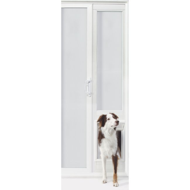 "VIP Vinyl Insulated Pet Patio Door - Extra Large/92 3/4"" to 94 1/2"""