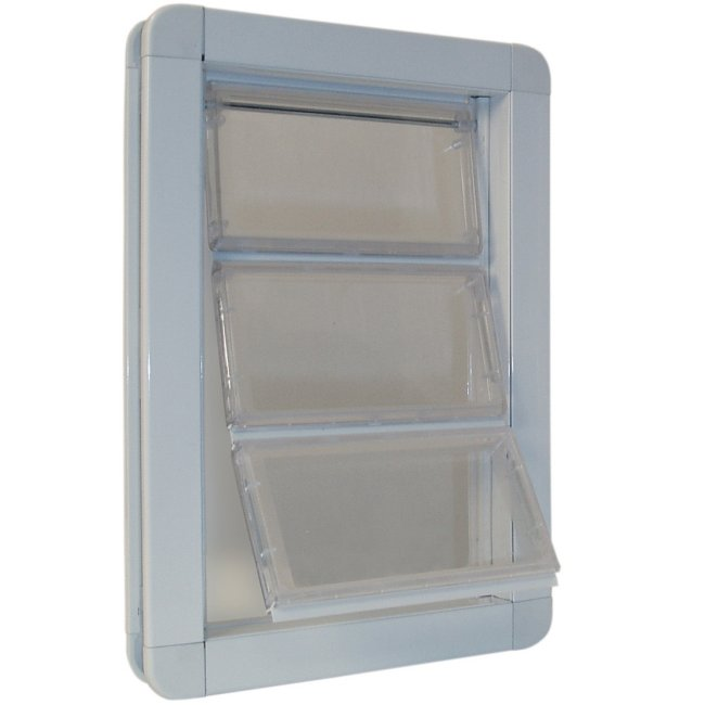 Premium Draft-Stopper Pet Door - Medium