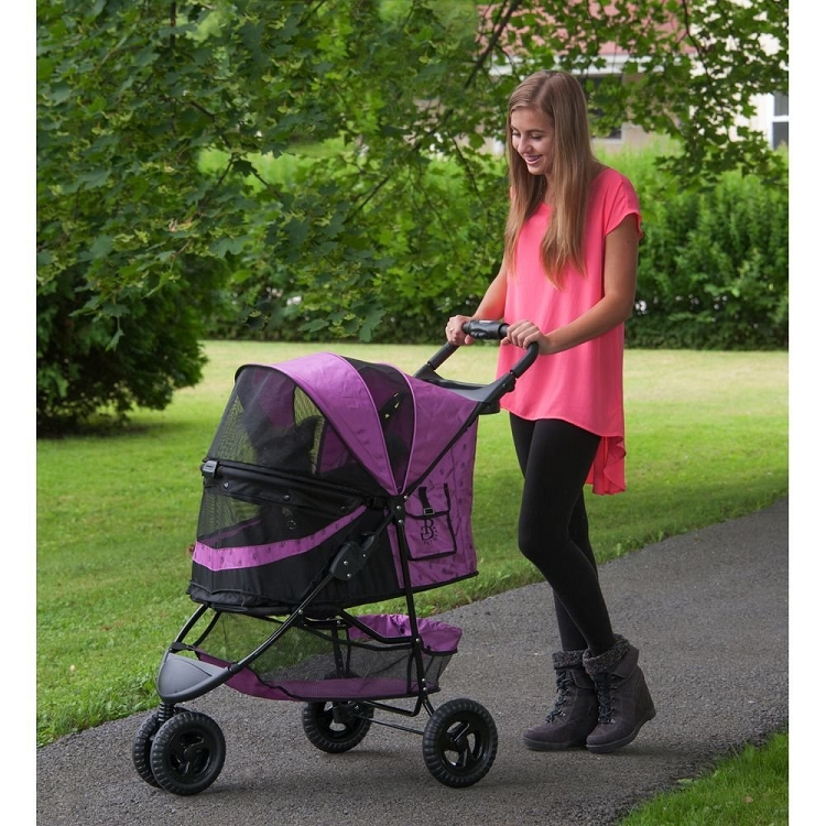 Special Edition No-Zip Pet Stroller - Orchid