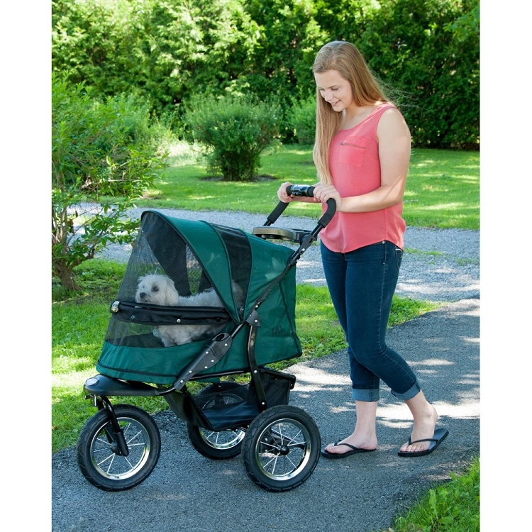 Jogger No-Zip Pet Stroller - Forest Green
