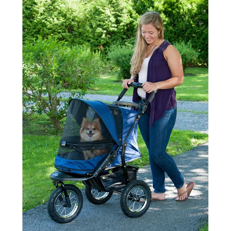 Jogger No-Zip Pet Stroller - Midnight River