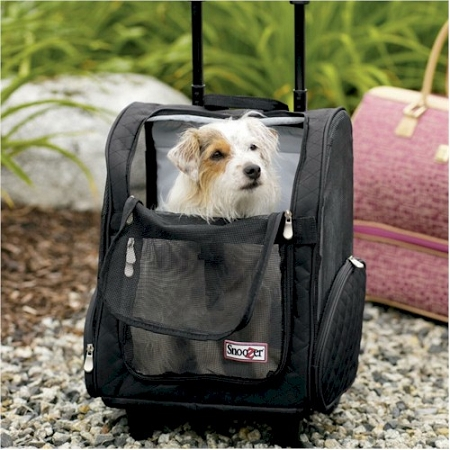 Snoozer Roll Around Pet Carrier - Small/Black at Sears.com