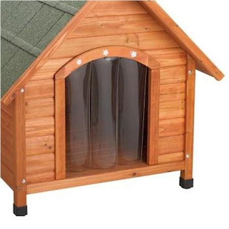 Premium Plus A Frame Dog House Door Flap - Medium