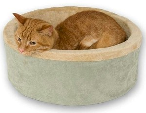 Thermo Kitty Heated Cat Bed - Large