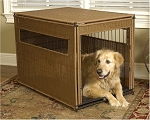Wicker Dog Crate - Extra Large