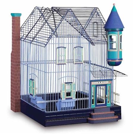 Featherstone Heights Victorian Bird Cage