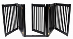 Walk Through 5 Panel Free Standing Pet Gate