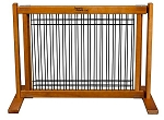 Wood and Wire Pet Gate - Large