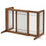 Small Bay Isle Freestanding Pet Gate