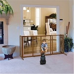 Deluxe Freestanding Pet Gate - Large