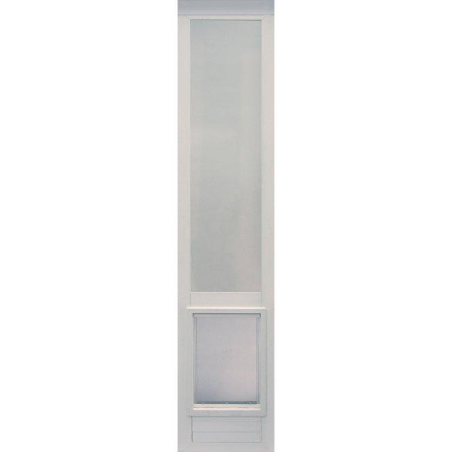 Ideal pet vpp vinyl pet patio door extra large 76 3 4 to for Ideal dog door