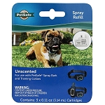 PetSafe Spray Refill Cartidges Unscented 3pk