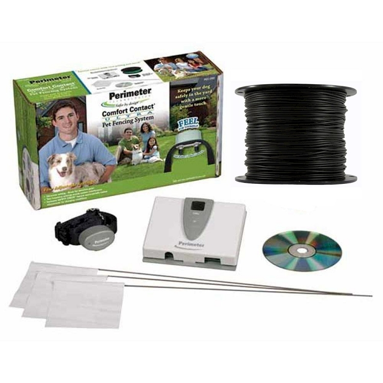 Perimeter Technologies Ultra In-Ground Fence with Essential Pet 14 ...