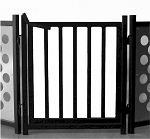Pets Stop Walk Thru For Free Standing Pet Gate