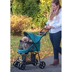 Happy Trails Lite NO-ZIP Pet Stroller - Pine Green