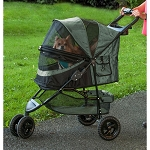 Special Edition No-Zip Pet Stroller - Sage