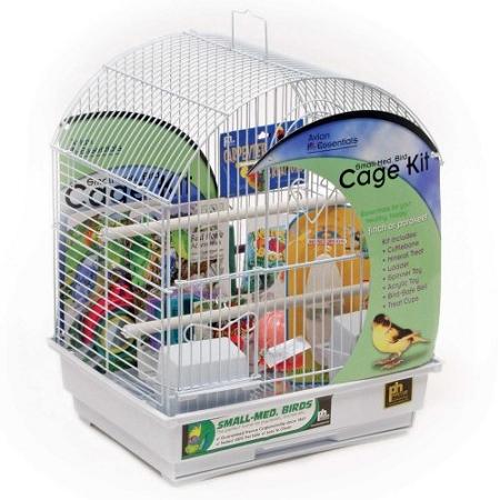 Round Roof Bird Cage Kit