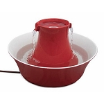 Drinkwell Red Avalon Stoneware Fountain