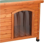 Premium Plus Dog House Door Flap - Medium & Large