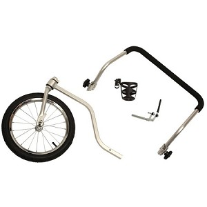 Hound About Bicycle Trailer Pet Stroller Kit - Large