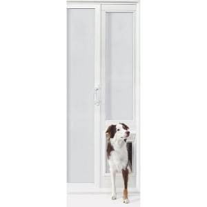 Ideal Pet  VIP Vinyl Insulated Pet Patio Door - Extra Large/76 3/4 to 78 1/2 Inches